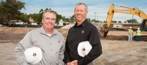 Al Forbes and William Chivers at RUSH Construction