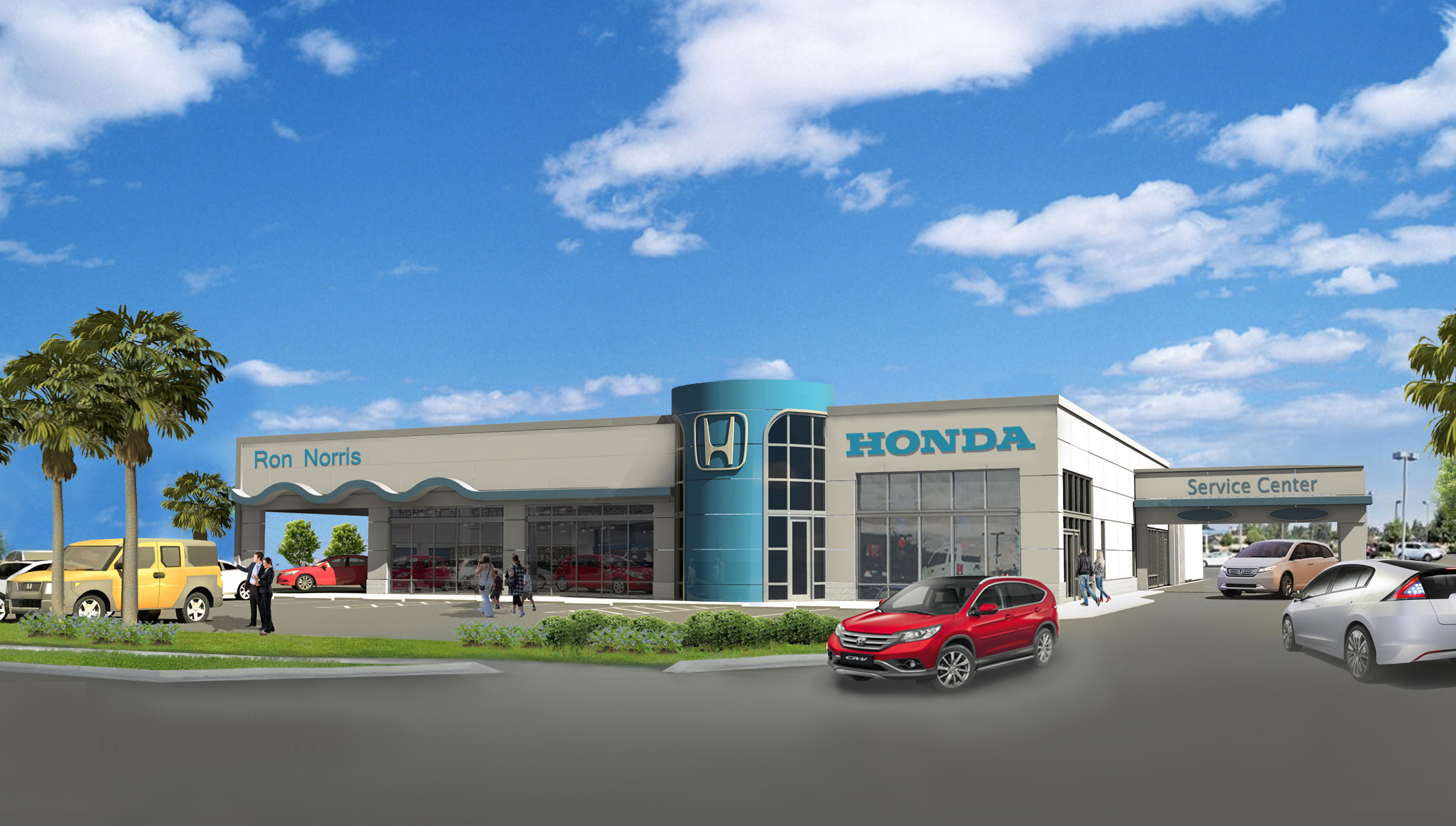 Rush project update ron norris auto dealerships near for Honda dealerships nearby