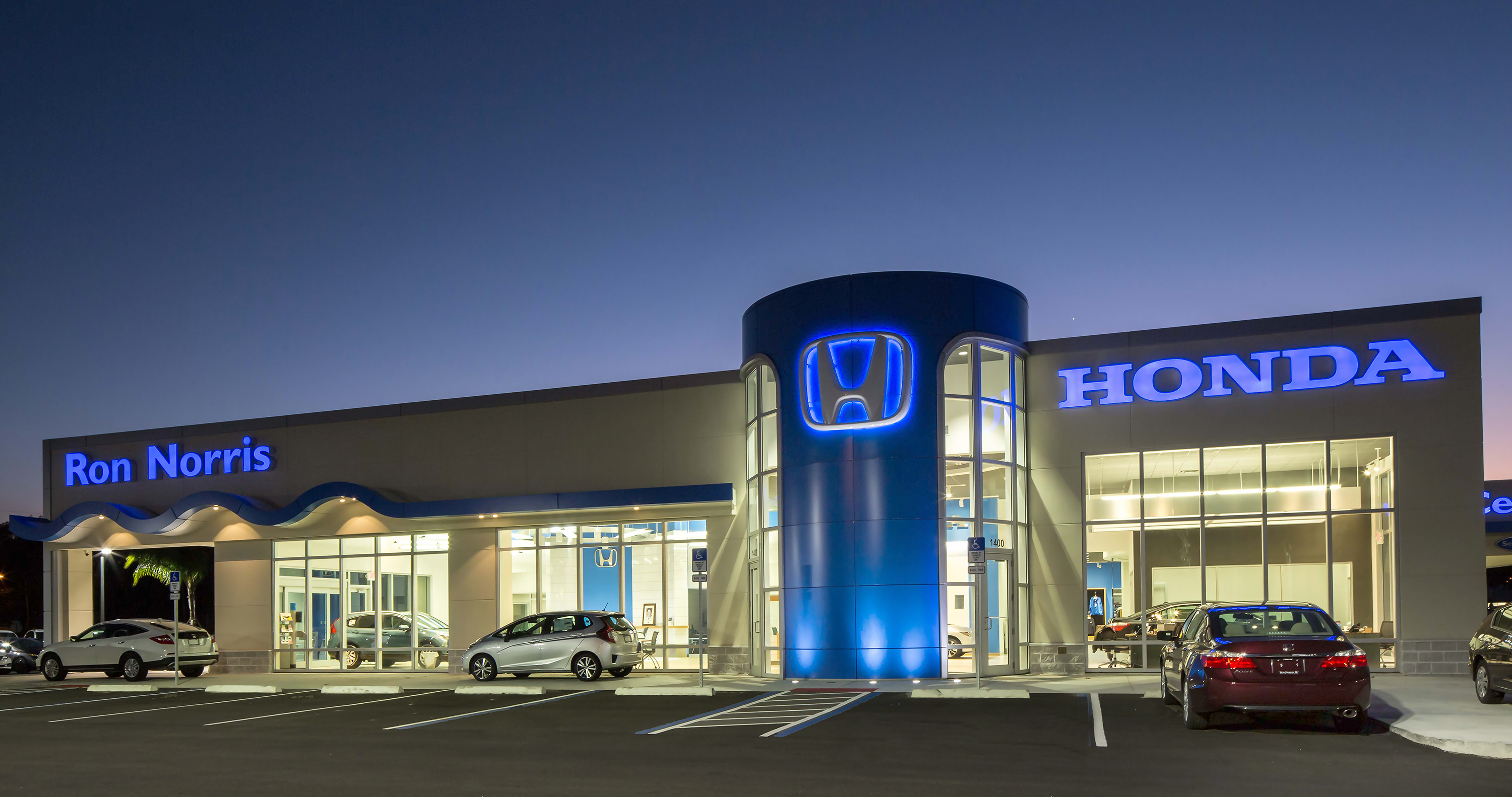 Ron Norris Honda Dealership Rush Inc
