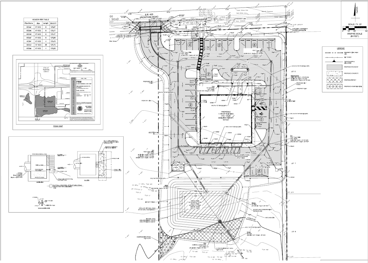 Construction Plans for DaVita Health Care Systems Dialysis Treatment Clinic