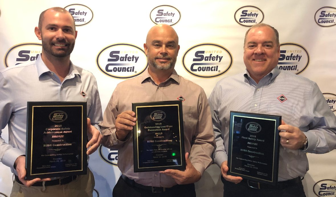 RUSH Construction Safety Awards