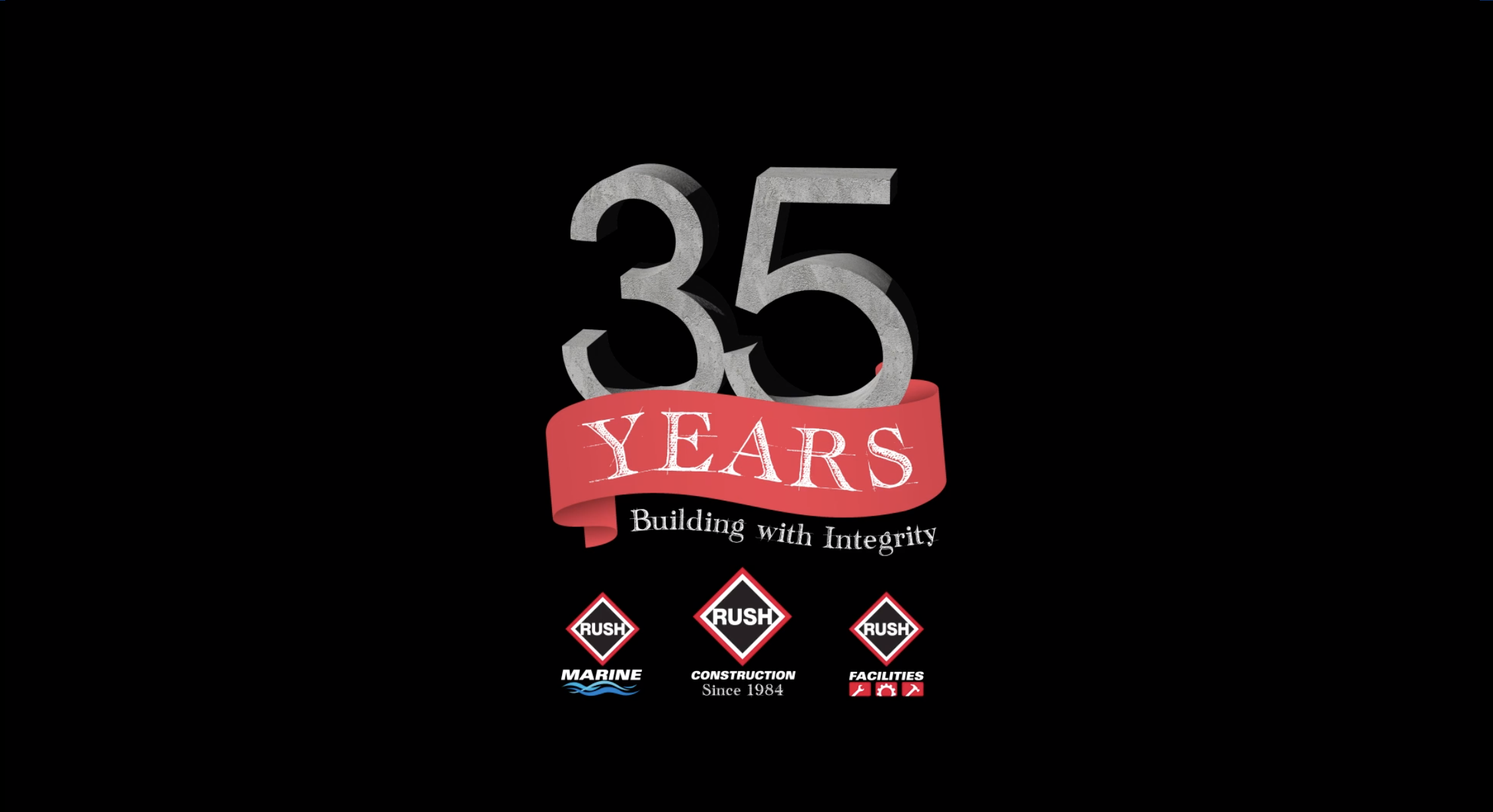 RUSH Construction Celebrates 35 Years in Business