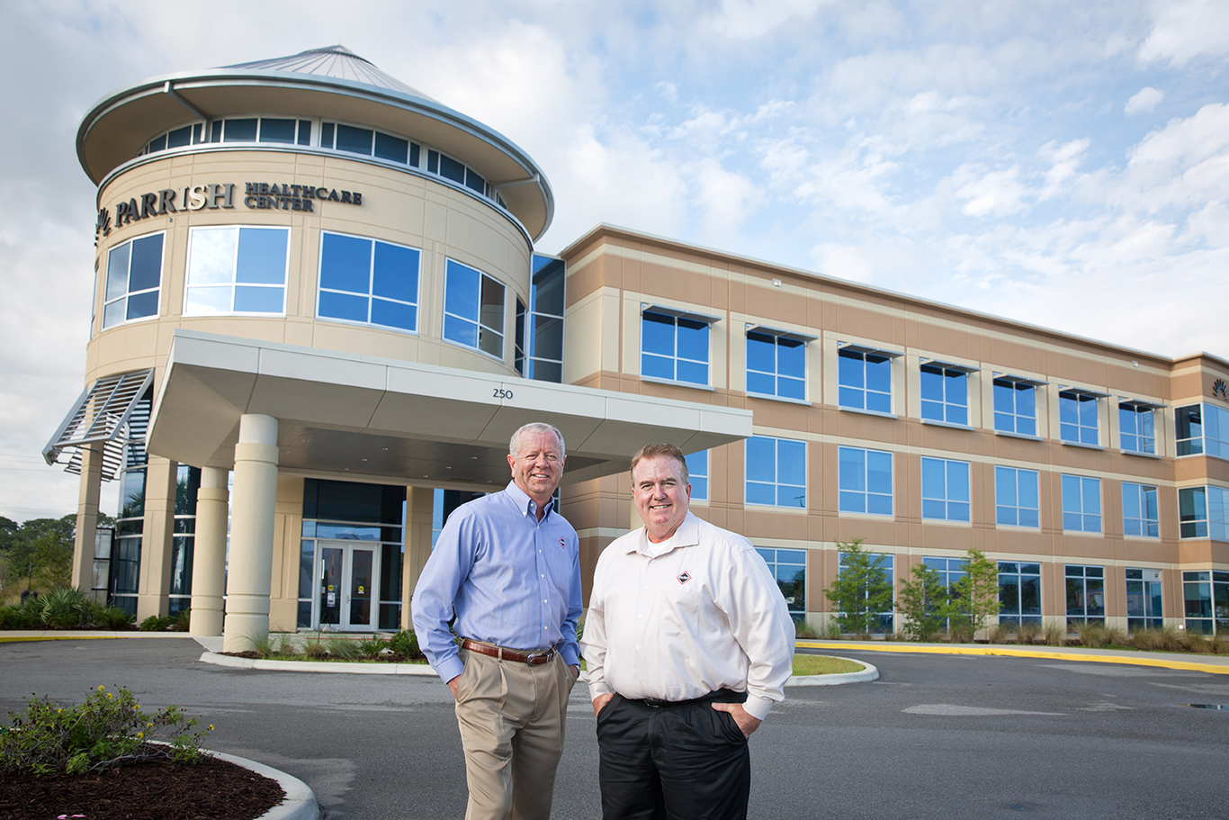 RUSH Construction at Parrish Healthcare Titus Landing with William Chivers and Al Forbes